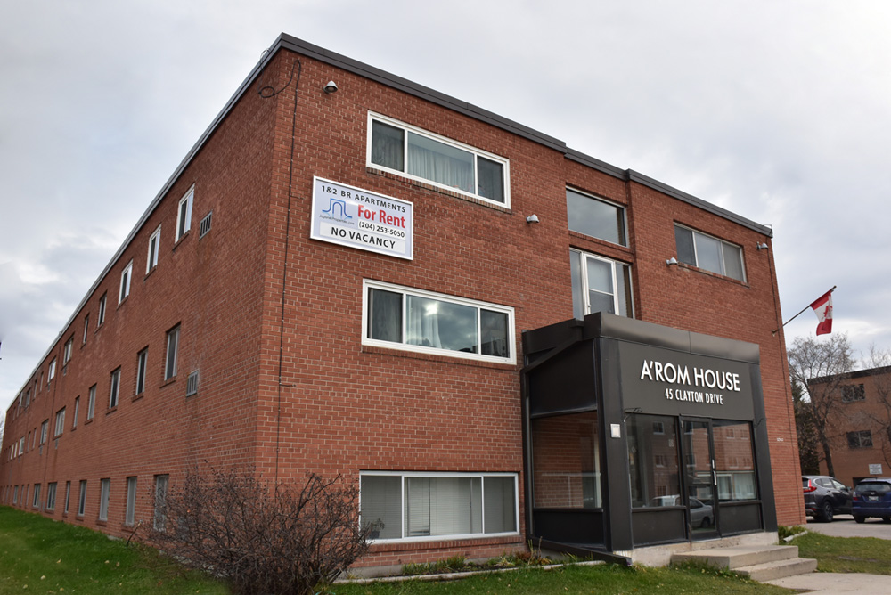 1 BR Apartment for Rent in Winnipeg at 45 Clayton Dr. Located in St. Vital